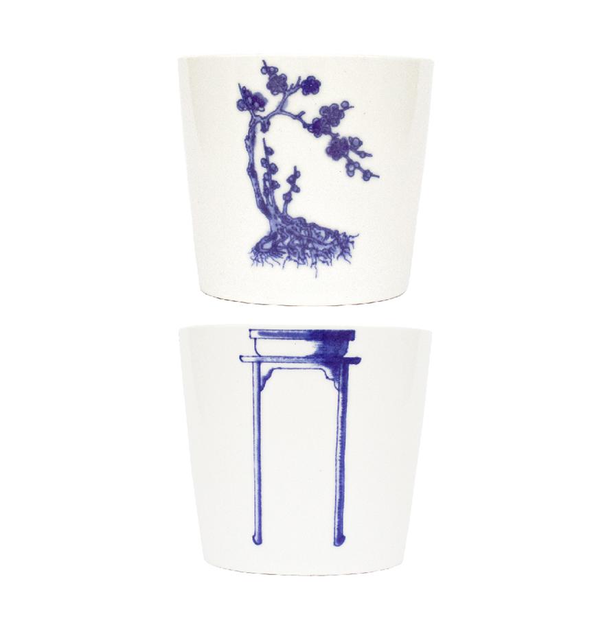 Bonsai Cups - Plum Blossom